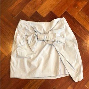 Dresses & Skirts - Baby Blue Bow Mini Skirt
